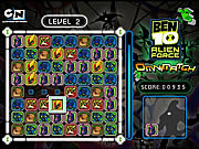 Ben 10 alien force omnimatch j�t�k