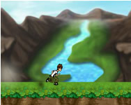 Ben 10 power jump game Ben 10 j�t�kok ingyen