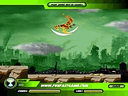 Ben 10 race against time in Istanbul park online játék