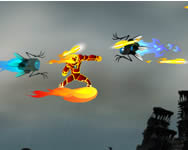 Ben 10 the master of flame online játék