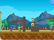 Mario in Ben 10 world Ben 10 j�t�kok